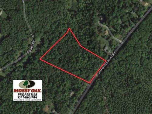 10 Acres Residential And Recreatio : Esmont : Albemarle County : Virginia