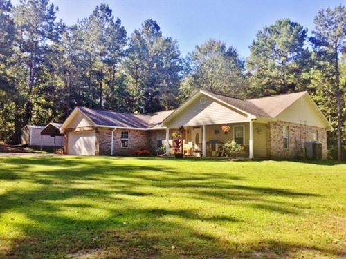 Home And Acreage For Sale Magnolia : Magnolia : Amite County : Mississippi