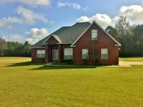 Rural Home For Sale Sw Ms Land : Magnolia : Pike County : Mississippi