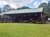 Cypress Cabin On 12 Acres, North Pi : McComb : Pike County : Mississippi