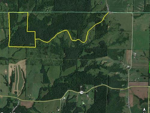 95 Acres Grouse Avenue & Co : La Plata : Macon County : Missouri
