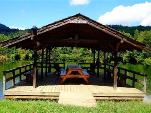 Waterfront Lot Inside a Beautiful : Old Fort : McDowell County : North Carolina