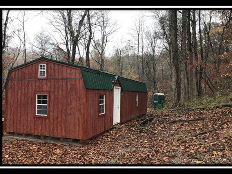Hidden Off Grid Cabin On The Hill : Jackson : Jackson County : Ohio