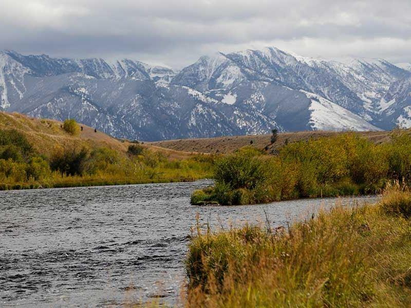 Sundance Bench Ranch : Cameron : Madison County : Montana