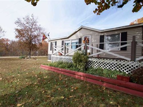 Manufactured Home For Sale on 8 Ac : Doniphan : Ripley County : Missouri