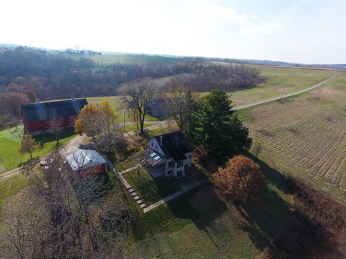 Jeffers Lane Farm 160+/- Acres : De Soto : Vernon County : Wisconsin
