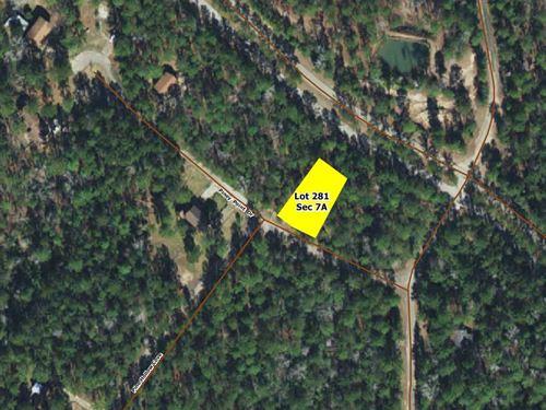 .27 Acres In Brookeland, TX : Brookeland : Jasper County : Texas