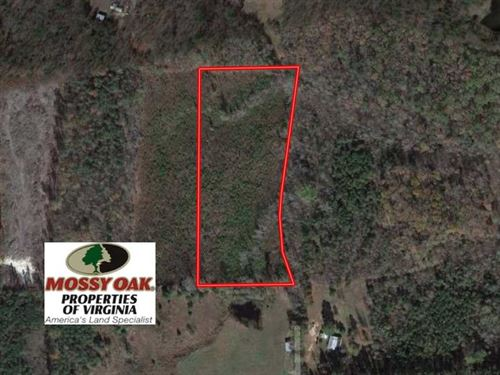 7.7 Acres of Residential Hunting : Ford : Dinwiddie County : Virginia