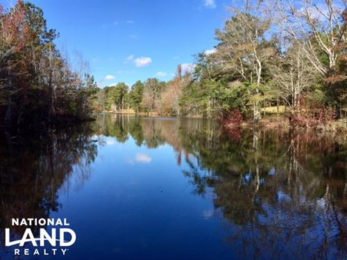 Harris County Hunting Property With : Shiloh : Harris County : Georgia