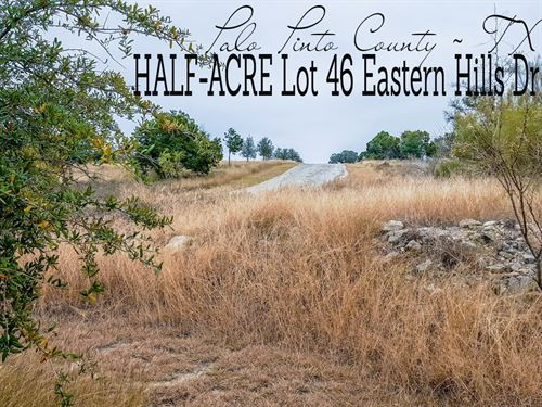 .47 Acres In Palo Pinto County : Graford : Palo Pinto County : Texas