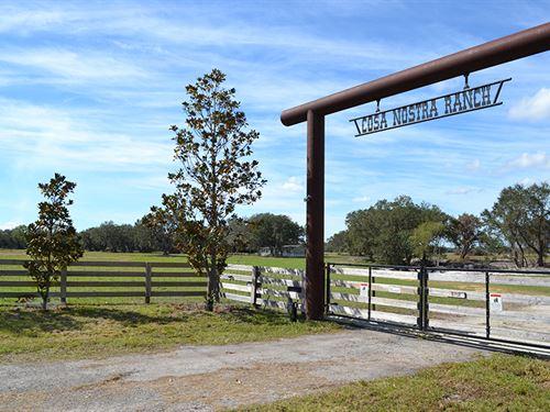 Cosa Nostra Ranch : Arcadia : De Soto County : Florida