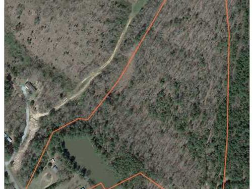 21 Acres on CR 220 in Water Valley : Water Valley : Yalobusha County : Mississippi