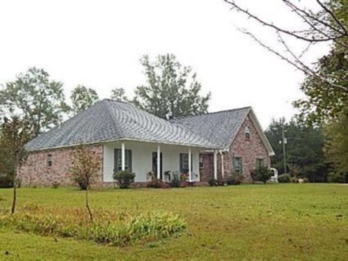 43 Acres With A Home In Smith Count : Mize : Smith County : Mississippi