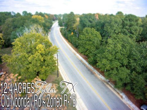 12.44 Acres In Smith County : Tyler : Smith County : Texas