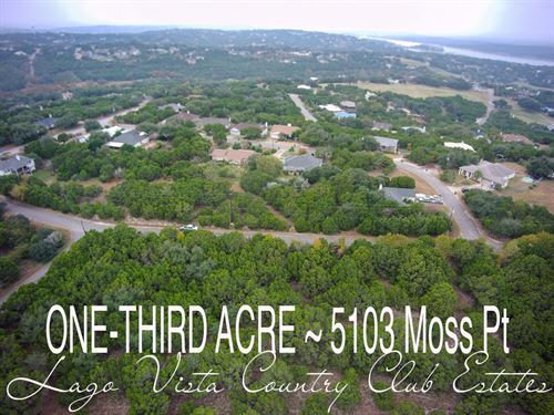 .36 Acres In Travis County : Lago : Travis County : Texas