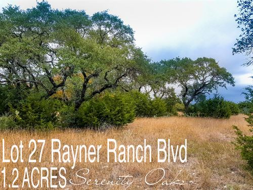 1.21 Acres In Comal County : Spring Branch : Comal County : Texas