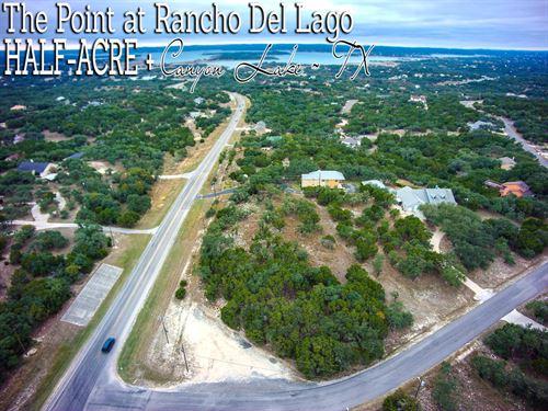 .54 Acres In Comal County : Canyon Lake : Comal County : Texas