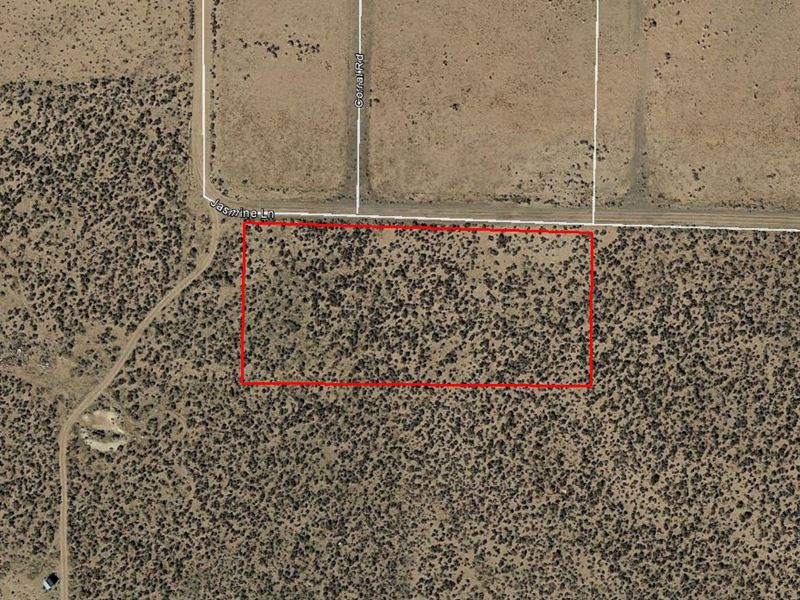 Desert Lot In Rural California : Doyle : Lassen County : California