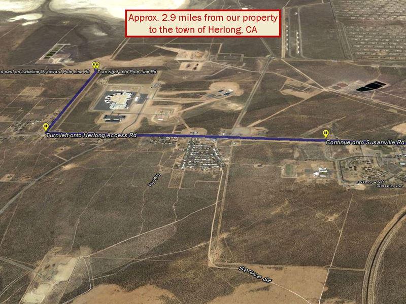 Cleared Lot In Doyle California : Doyle : Lassen County : California