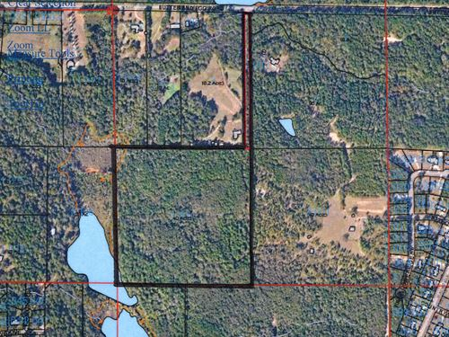 41.5 Acres Of Prime Development : Troy : Pike County : Alabama