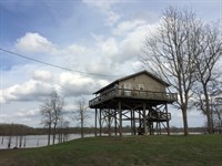 New Lake House On South End : Woodville : Wilkinson County : Mississippi