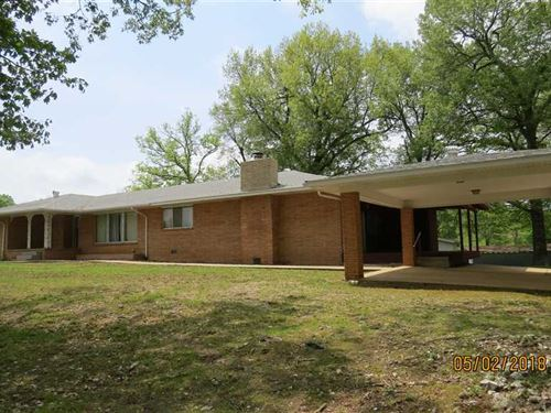 Large Home on 9 Acres Just Out : Marshall : Searcy County : Arkansas