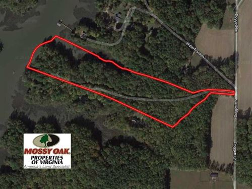 12.7 Acres of Residential Hunting : Carrollton : Isle Of Wight County : Virginia