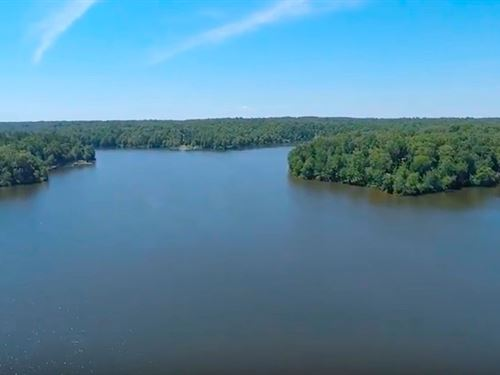 Waterfront Lot At Indian Lake : Cedar Grove : Carroll County : Tennessee