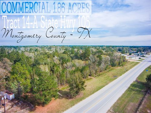 1.86 Acres In Montgomery County : Cleveland : Montgomery County : Texas