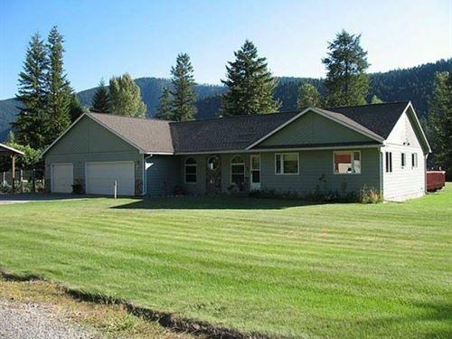 River Runs Thru It : Libby : Lincoln County : Montana