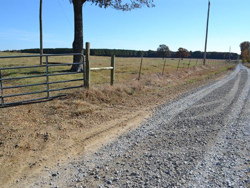 House And 99 Acres Of Pasture Land : Newark : Independence County : Arkansas