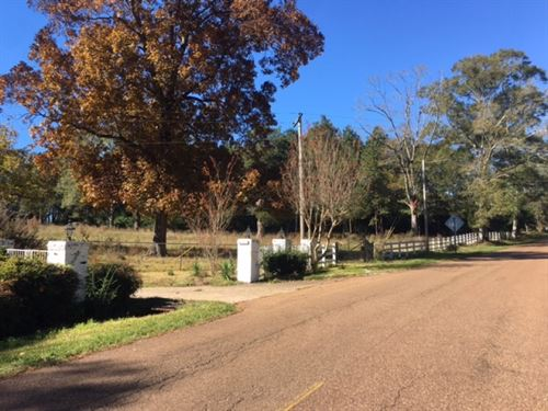 9.35 Ac In City Limits Of Gloster : Gloster : Amite County : Mississippi