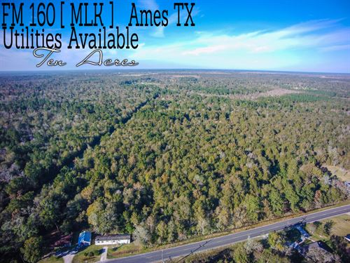 10.13 Acres In Liberty County : Ames : Liberty County : Texas