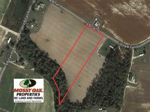 Under Contract, 6 Acres of Farm : Dunn : Sampson County : North Carolina