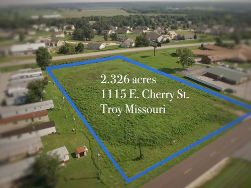 Commercial Land In Troy, Mo : Troy : Lincoln County : Missouri