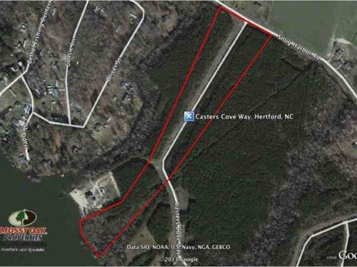 Reduced, Secluded, Peaceful 15 Acr : Hertford : Perquimans County : North Carolina