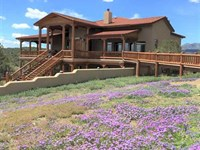 Luxury Home on 160 Acres w/ Spring : Capitan : Lincoln County : New Mexico