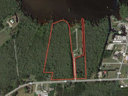 20.05 ac of Waterfront Hunting Lan : Columbia : Tyrrell County : North Carolina