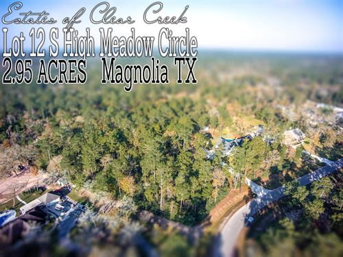2.95 Acres In Montgomery County : Magnolia : Montgomery County : Texas