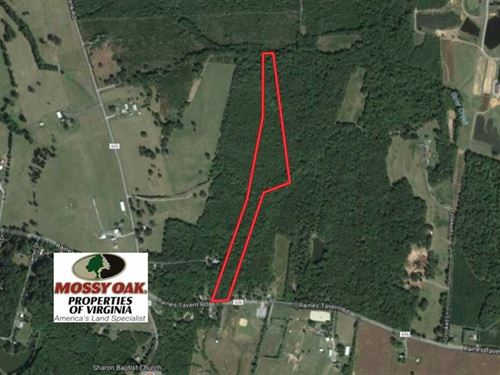16.60 Acres of Hunting And Recreat : Farmville : Cumberland County : Virginia