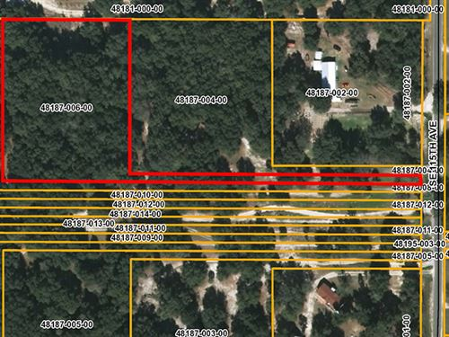 Residential Lot Zone A-1 : Weirsdale : Marion County : Florida