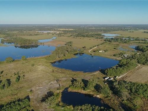 Beautiful Farm Or Investment : Groveland : Lake County : Florida