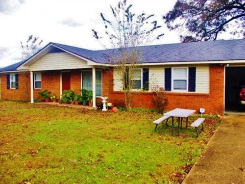 House & 5.73 Acres For Sale Nor : McComb : Pike County : Mississippi