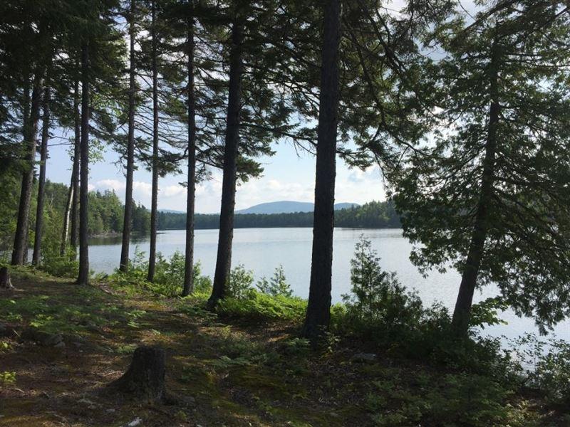 Tuft's Pond Lot : Kingfield : Franklin County : Maine
