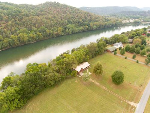 White River Frontage, Large Deck : Mountain View : Izard County : Arkansas