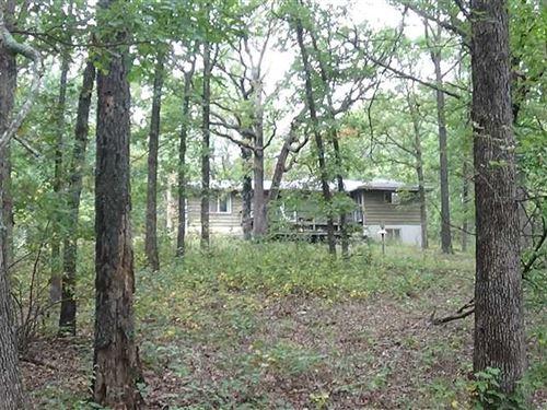 Great Recreation/Hunting 50 Acres : Urbana : Hickory County : Missouri