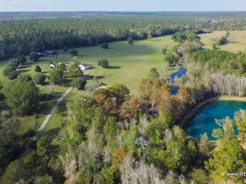54.9 Ac - Large Home & Pasture : Jasper : Texas