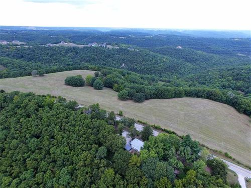 55 Acres Near Walnut Shade on High : Reeds Spring : Taney County : Missouri