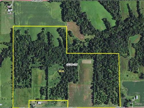 95 Acres, M/L, Incredible Hunting : Selma : Davis County : Iowa