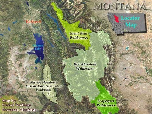Great Bear Outfitters - Montana : Hungry Horse : Flathead County : Montana